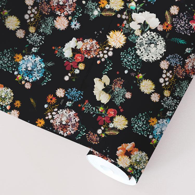 Papier peint Floral | ©Maison Baluchon