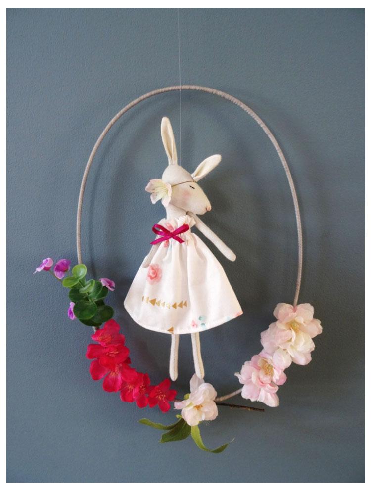 Ronde de fleurs N°4 ©RoseMinuscule
