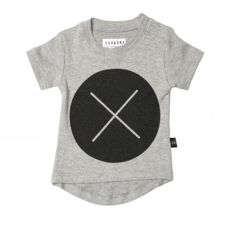 T-shirt Circle Cross©H U X B A B Y