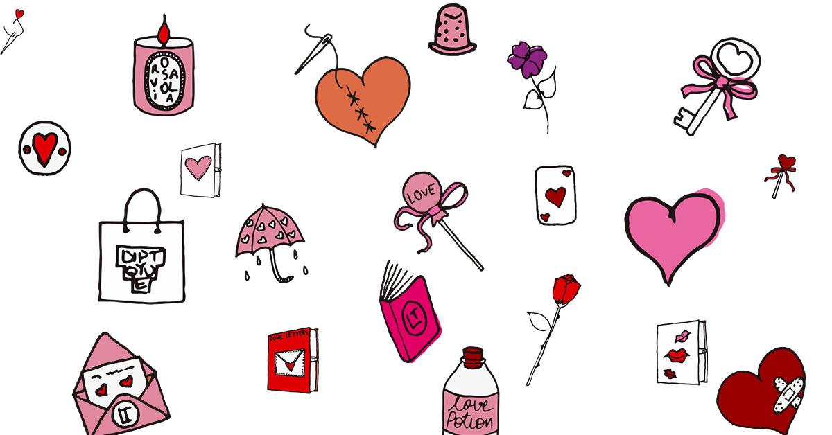 les emojis Olympia Le-Tan pour diptyque
