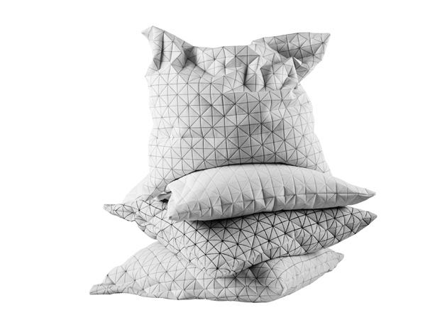 coussin Origami - design Mika Barr