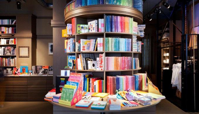 La librairie - Thé des Ecrivains - Paris
