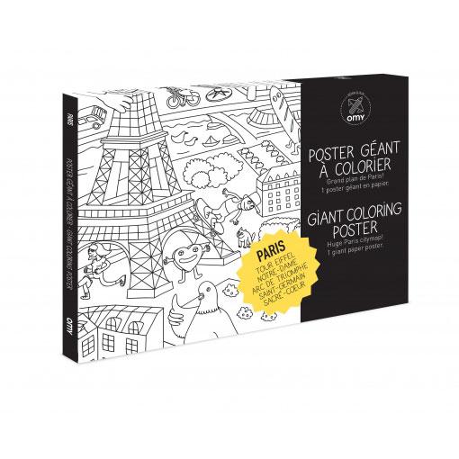 Poster géant Paris ©OMY