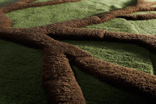 Roots©Matali Crasset pour Nodus Rug