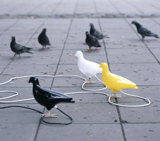 Pigeon Light - lampe murale ou à poser - Design Ed Carpenter