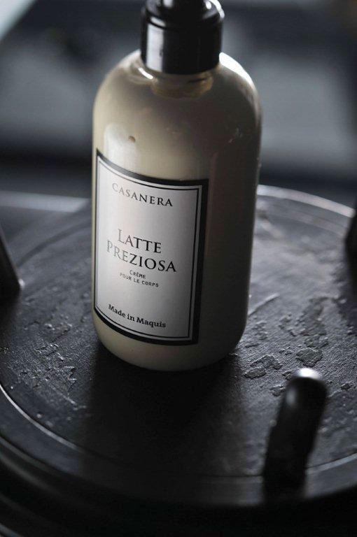 Crème pour le corps Latte Preziosa ©Casanera