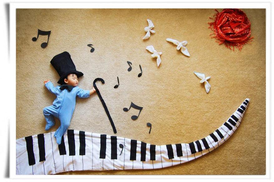 Piano - Wengenn in Wonderland ©Queenie Liao