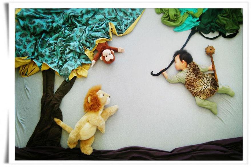 Tarzan - Wengenn in Wonderland ©Queenie Liao