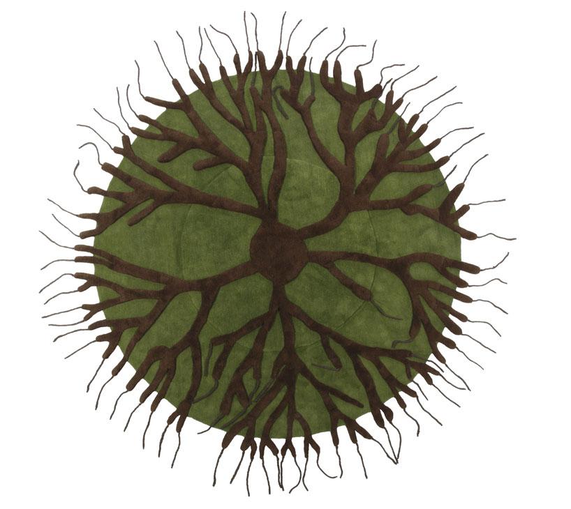 tapis Roots ©Matali Crasset pour Nodus Rug
