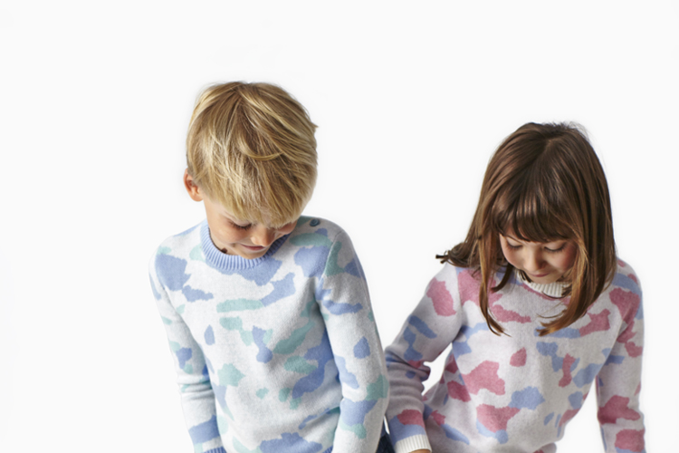 ATELIER CHILD SS16 CAMO CREW DOUBLE