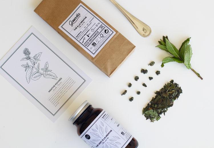 GreenMa | Thé à la menthe poivrée