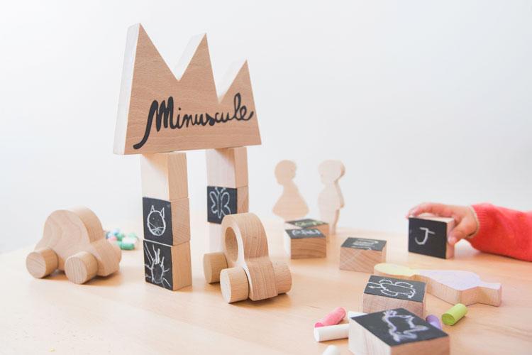 Cubes Ardoise, Ma Première Voiture, Figurines | ©Paulette & Sasha