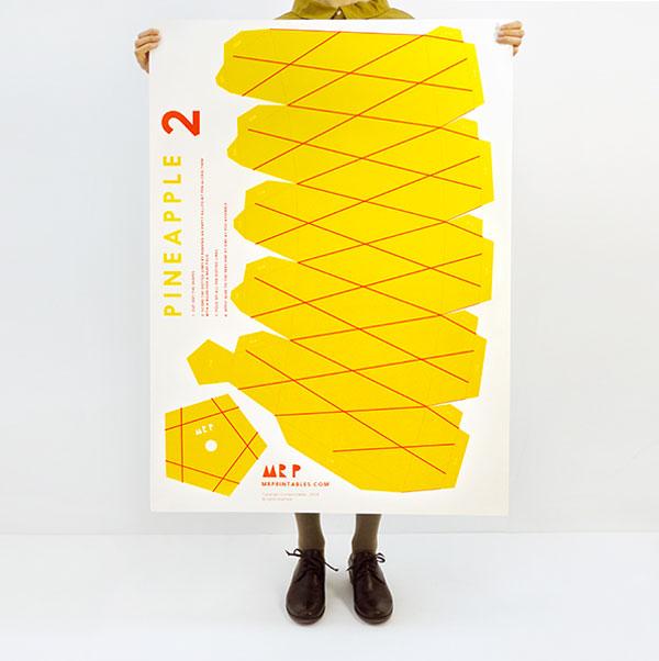 Ananas | ©Mr Printable sur Moon Picnic