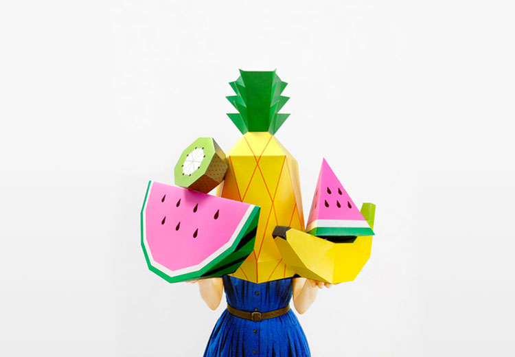 Les fruits géants de Mr Printable