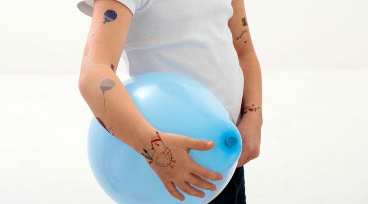 Ballon bleu clair| Sioou