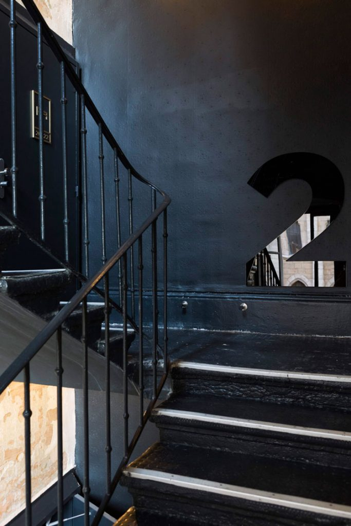 L'escalier du ho36 | ©Pierrick Vierny