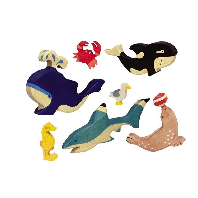 les animaux de la mer | Holtziger