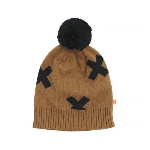 Bonnet logo à pompon | TINYCOTTONS
