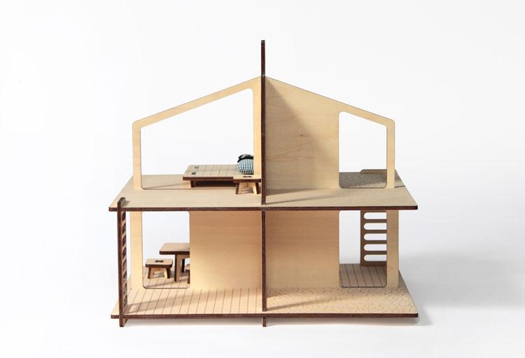 Maison de poupée et son mobile | ©Milky Wood