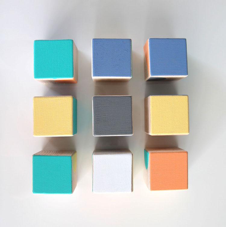 Jeu de cubes | ©La Petite Particule
