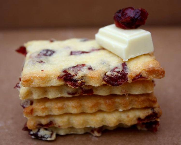 Biscuits cranberry et chocolat blanc | ©Shanty Biscuits