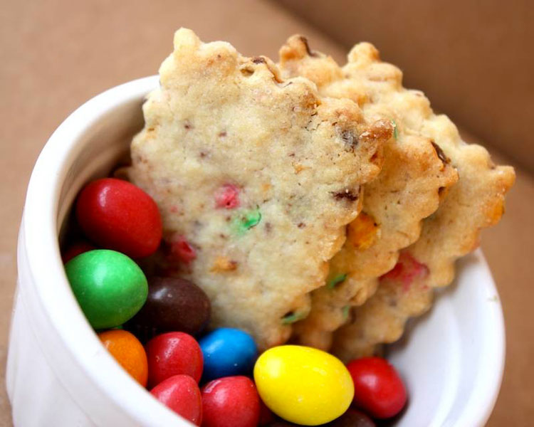Biscuits M&M's | ©Shanty Biscuits