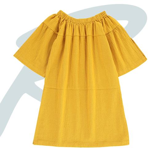 robe-texturee-col-elastique-tambere